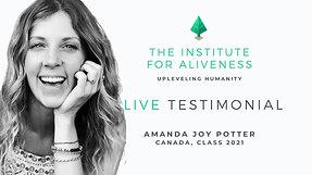 TIFA Testimonial Amanda