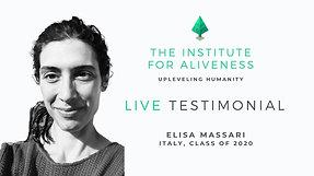 TIFA Testimonial  Elisa