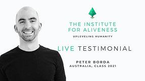 TIFA  Testimonial  Peter