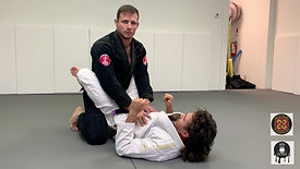 Basic Closed Guard Break set up
