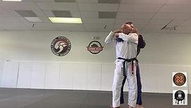Self Defense Rear Choke