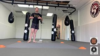 Wrestling defense exercise