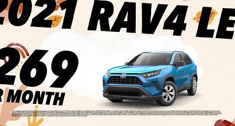 FALL IS HERE WITH THE NEW TOYOTA RAV4 2022