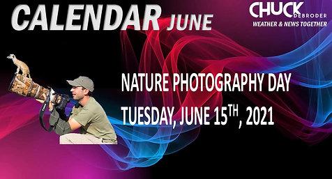 CALENDAR TODAY TUESDAY, JUNE 15TH, 2021