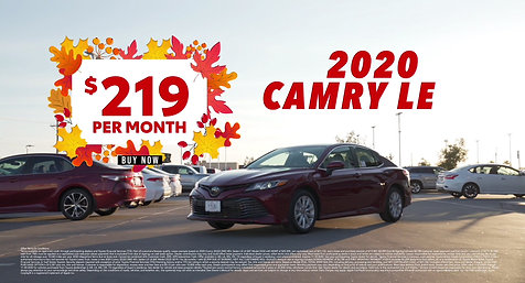 2020 Camry