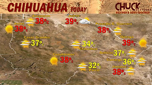 CHIHUAHUA FORECAST TODAY TUESDAY, JUNE 15TH, 2021