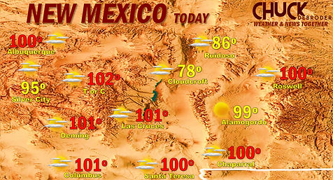 NEW MEXICO FORECAST TODAY TUESDAY, JUNE 15TH, 2021