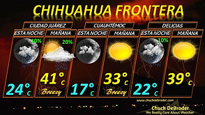 CHIHUAHUA FRONTERA PRONÓSTICO ESTA NOCHE JUEVES, 4 DE JUNIO DEL 2020