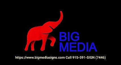 BIG MEDIA SIGNS