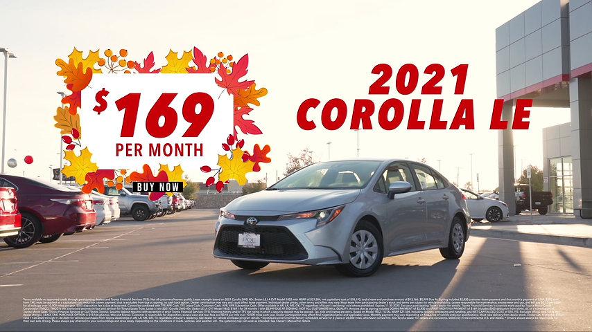 2021 Corolla 1080