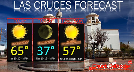 LAS CRUCES FORECAST TODAY 02242020