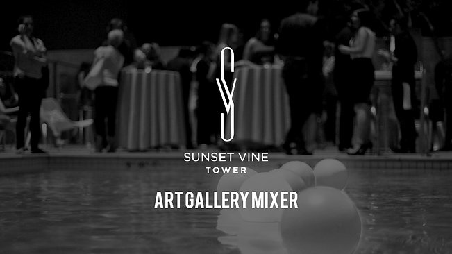 Sunset Vine Art Gallery Mixer