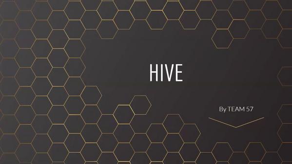 Why Hive