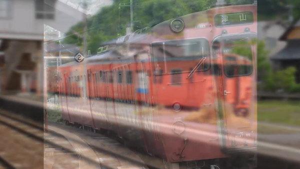 駅 津山線を岡山から  2018-2-28