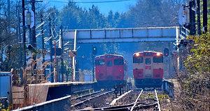 津山線を行く    2018-2-21