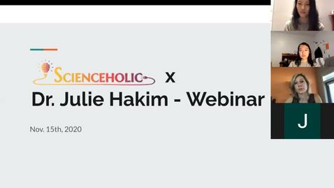 Dr. Hakim's Webinar