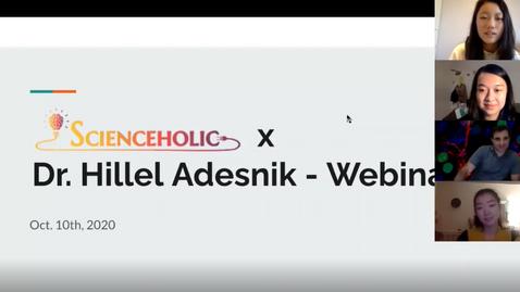 Dr. Adesnik's Webinar