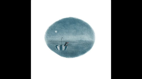 Penguin and the Umbrella
