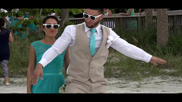 Ft Myers Beach Wedding by Platinum
