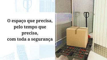 Nós temos a solução: Boxes individuais ao m2