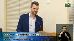 Discurso do Vereador Rafael de Angeli - 01 de agosto de 2017
