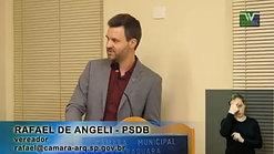 Discurso do Vereador Rafael de Angeli - 08 de agosto de 2017