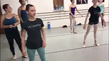 Bollywood dance taught to Ballet students by Rama Suresh