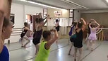 Mallari taught to Ballet Students by Ram Suresh
