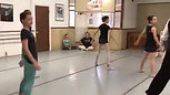Folk Class for ballet students