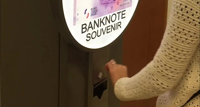 Cajero Billetes Eurosouvenir