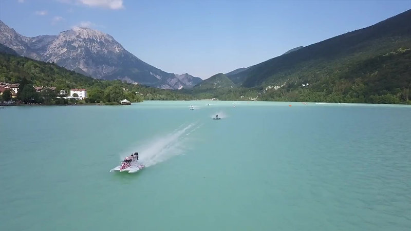 UIM World Powerboat championship Italy Barcis 2018