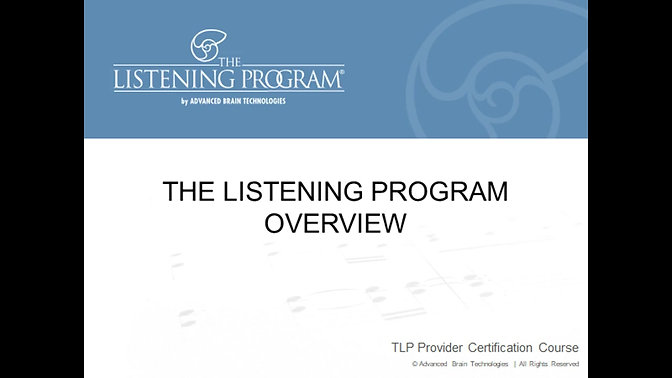 1. TLP overview