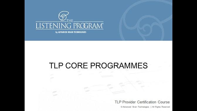 5. Core Programmes