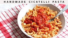 Southern Italian Cicatelli Pasta