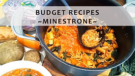 Budget Recipe Cooking Class: Minestrone
