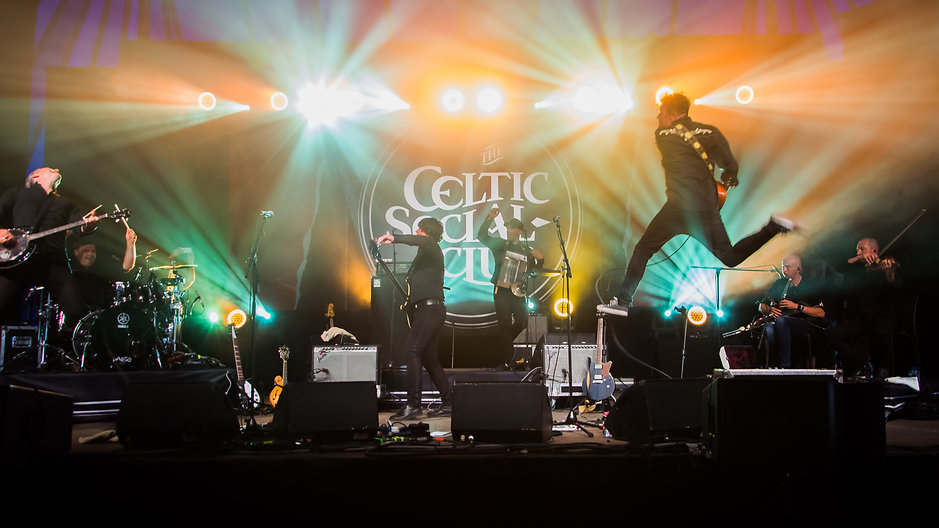 The CELTIC SOCIAL CLUB - From Babylon to Avalon Tour