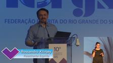 Painel com Rossandro Klinjey - 10º Congresso Espírita do RS