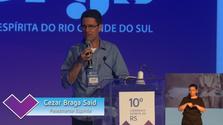 Painel com Cezar Braga Said - 10º Congresso Espírita do RS