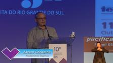 Painel com Álvaro Chrispino - 10º Congresso Espírita do RS