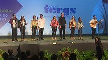 Apresentação musical do grupo Vozes de Cruz Alta - 10º Congresso Espírita do RS