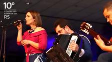 Apresentação musical com Cacá Rezende - 10º Congresso Espírita do RS