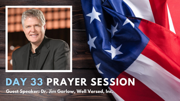 Day 33 | 50 Day Fight | Dr. Jim Garlow & Deroy Murdock