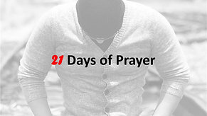 21 Days of Prayer   Day 16 with Alfred Johnson   May 30th
