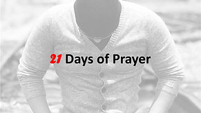 21 Days of Prayer   Day 17 with Jim Bourland   May 31st