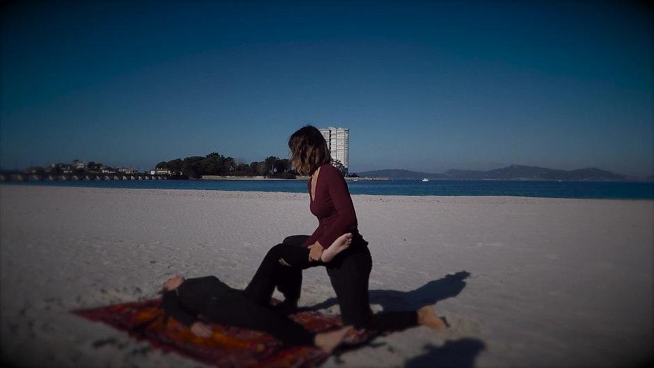 Shiatsu en la Playa