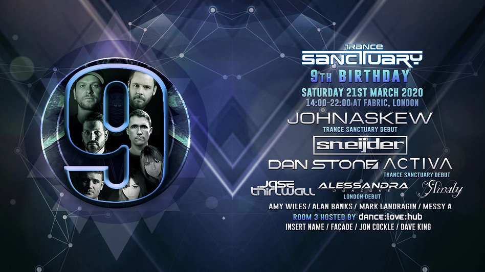 Trance Sanctuary 9th Birthday