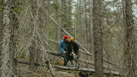 Jayda + Ethan   Barrier Lake Engagement Film