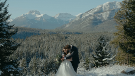 Irena + Arcady   Fairmont Banff Springs Elopement Film