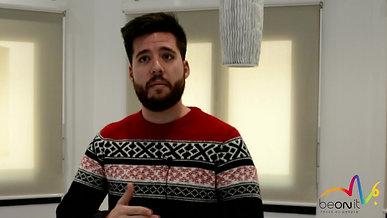 """""""Se enfocaron mucho en conocerme como persona y más como profesional"""" Carlos Huguet, arquitecto de software en BBVA"""