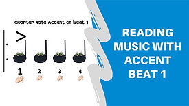 Reading Music-Accent on Beat 1